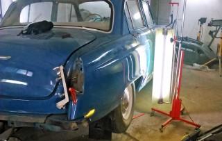 Кузовной ремонт ретро-автомобилей